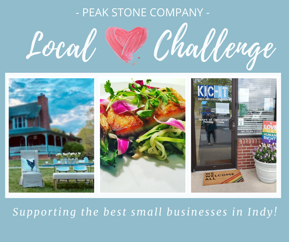 Love Local image with three supporting business pictures