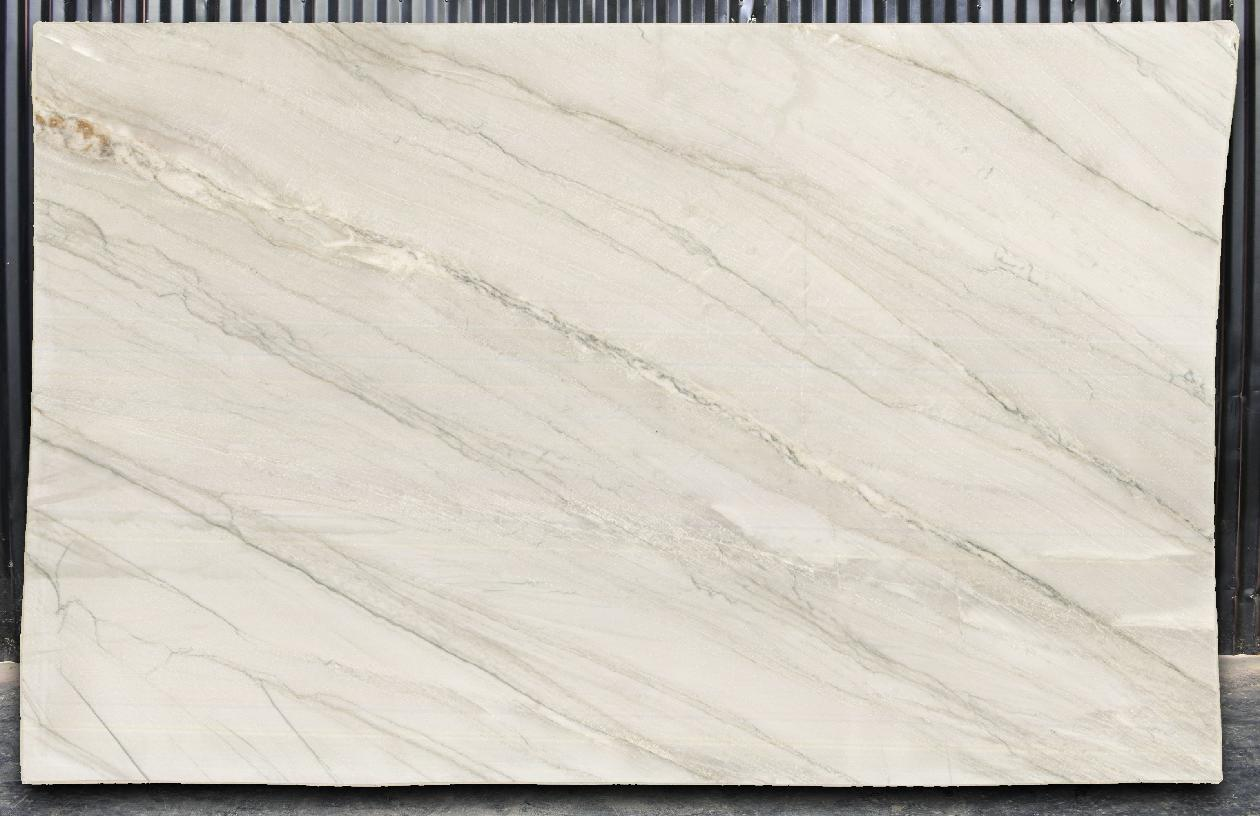 Full slab image of Mykonos Natural Quartzite